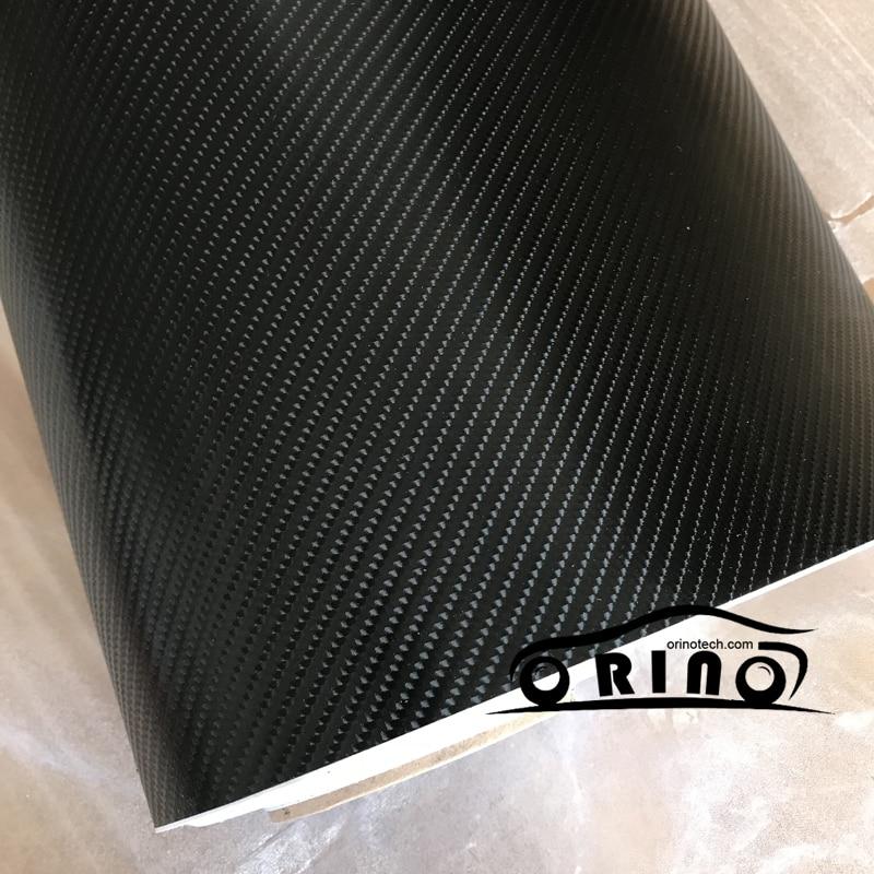 5 10 15 20 30X1 52 Meters 4D Car Carbon Fiber Sticker DIY Black Carbon Fiber
