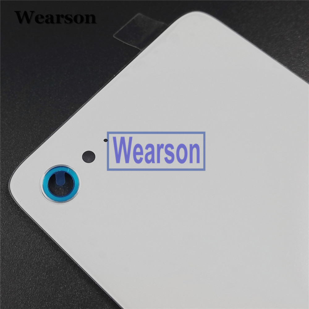 For Lenovo ZUK Z2 PLUS Back Cover Z2 PLUS Battery Cover Glass+Glue 100% Original New Free Shipping With Tracking Number (1)
