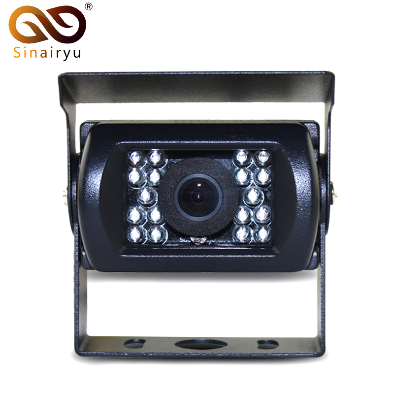 Sinairyu DC 12 24V Car Parking font b Camera b font IR Nightvision Waterproof Rear View