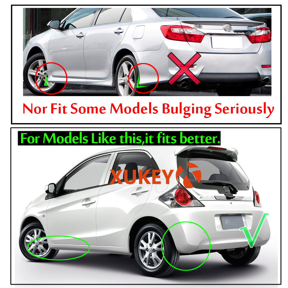 Image 5 - Universal Mudflaps Mud Flaps Flap Splash Guards Mudguards For Toyota Auris Avensis Aygo Camry CH R Corolla IQ Picnic RAV4 Yaris-in Mudguards from Automobiles & Motorcycles