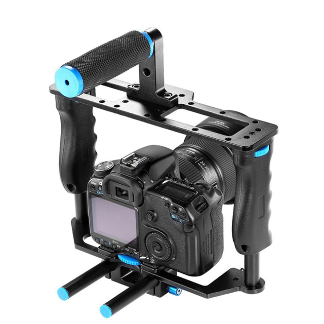 CK612 Portable Lightweight High quality Heavy-duty Aluminum Alloy Film Movie Making Camera Video Cage for DSLR Cameras