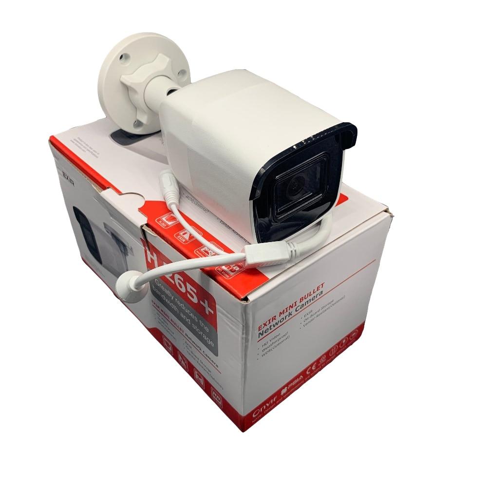 Version internationale originale 8 MP (4 K) DS-2CD2085G1-I caméra réseau H265 caméra de vidéosurveillance alimentée par sombre avec fente pour carte SD