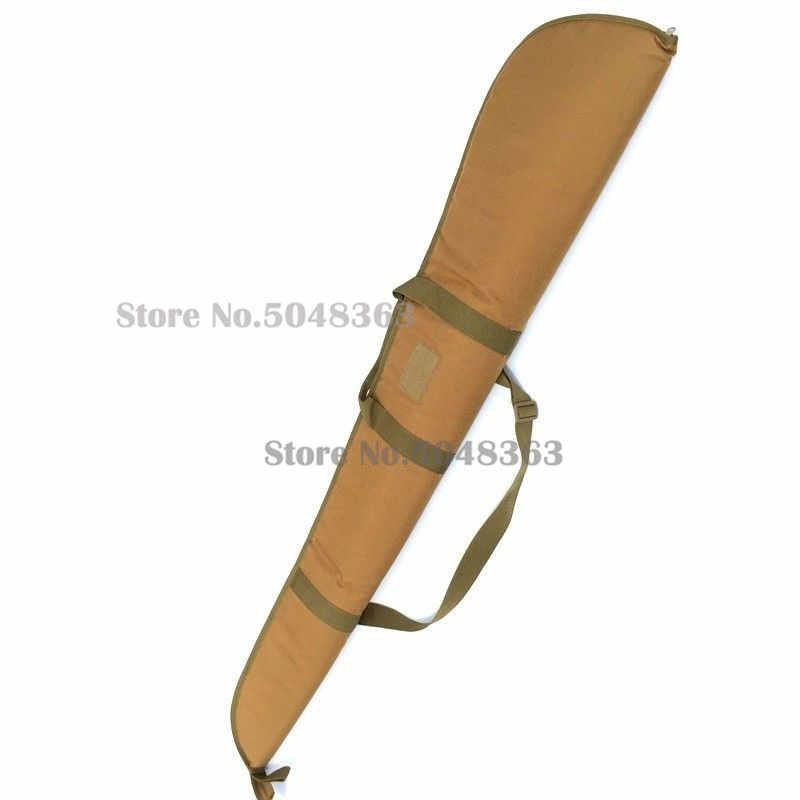 130 センチメートル戦術ナイロン銃バッグソフトパディング耐久性のある耐ライフル軍事撮影用のキャリングケース