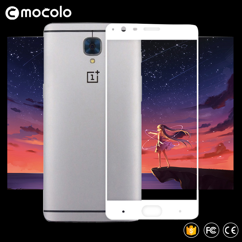 Original MOCOLO for Oneplus 3 full deksel Premium herdet glass skjermbeskytter One Plus 3T 1+ 3T for oneplus 3t Oneplus 5 5T