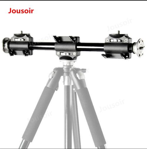 Camera Cross Bar Four Mounts Cross Arm NEW Tripod Accessory Arm Four Heads For Tripod And Tripod Head Extension Arm CD50 T06Y