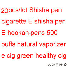 20pcs/lot e shisha time Electric cigarette Square Smoke e shisha pen cigarette 34 flavors e shisha time pen electronic cigarette