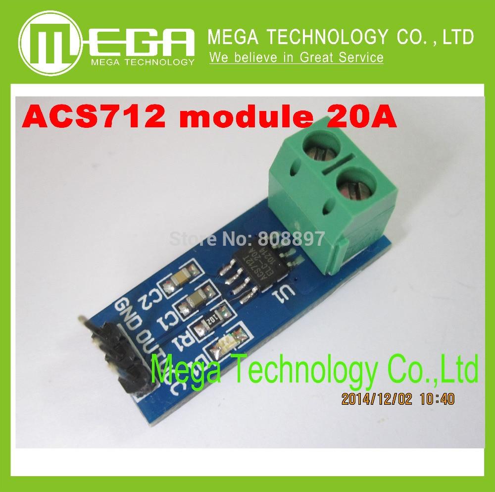 Baru 20a Hall Current Sensor Modul Acs712 Model Dalam Stok Led Module P10 M10 7warna Kualitas Tinggi