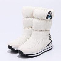 2019 winter girls snow boots warm plush Princess boots waterproof non slip children winter shoes platform size 31 39 with gift