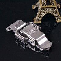 Free Shipping Metal Hasp Stainless Steel Industrial Box Spring Buckle Incubator Sealed Box Lock Fastener Bag