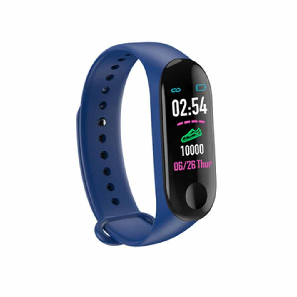 Mi Band 3 Smart Bracelet Sports Watch Screen Exercise Heart Rate Blood Pressure Step Smart Watches For Men Women Dropshipping