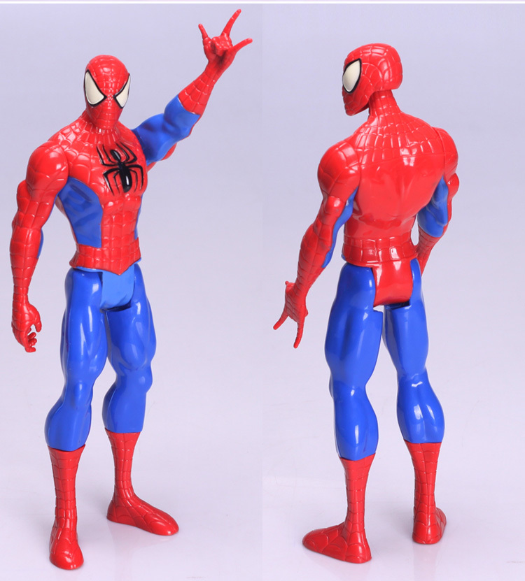 30cm superior spider-man peter parker super hero spider man action figure spidermen toys пластилин spider man 10 цветов
