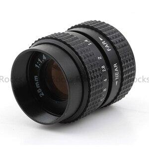 Image 5 - Pixco 25mm F1.4 P/P CCTV soczewka do tv + C mocowanie dla Pentax Q dla Pentax Q S1 Q10 Q7 mft obiektyw