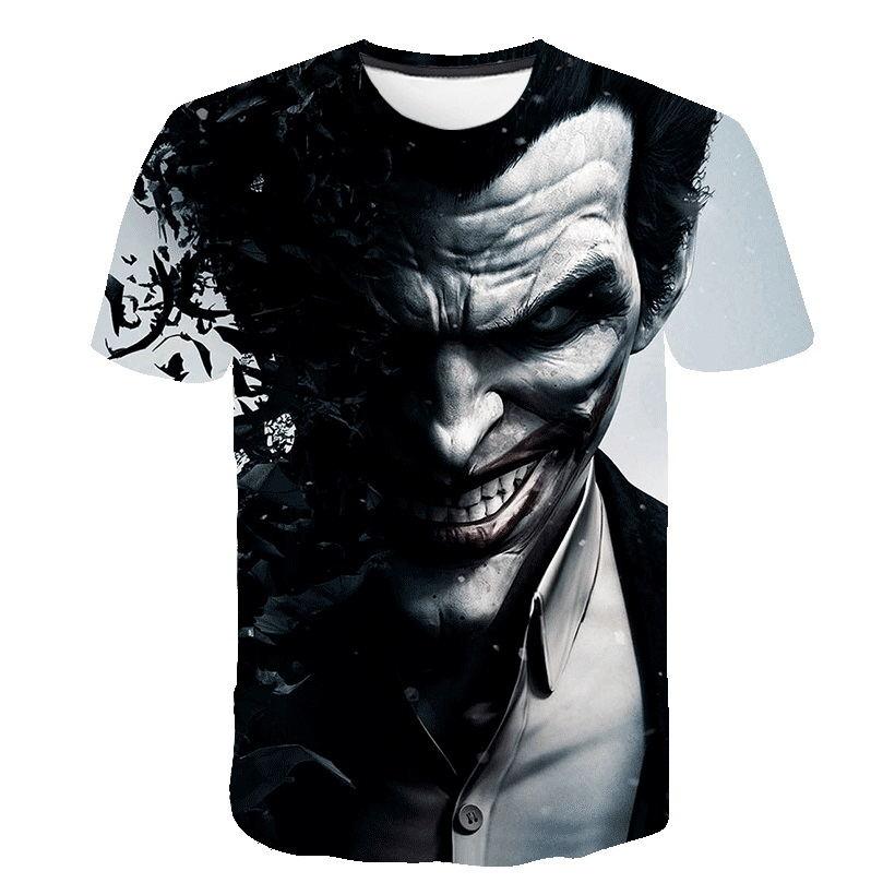 Suicide Squad Ladies Joker /& Harley Crop T-shirt Black XXL