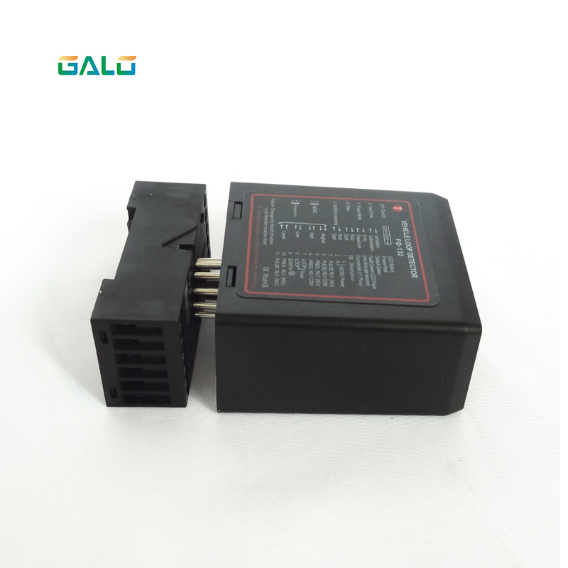 Barrier Gate 2 Channel Car PD132 Loop Detector For Access Control System OEM Use For Parking System