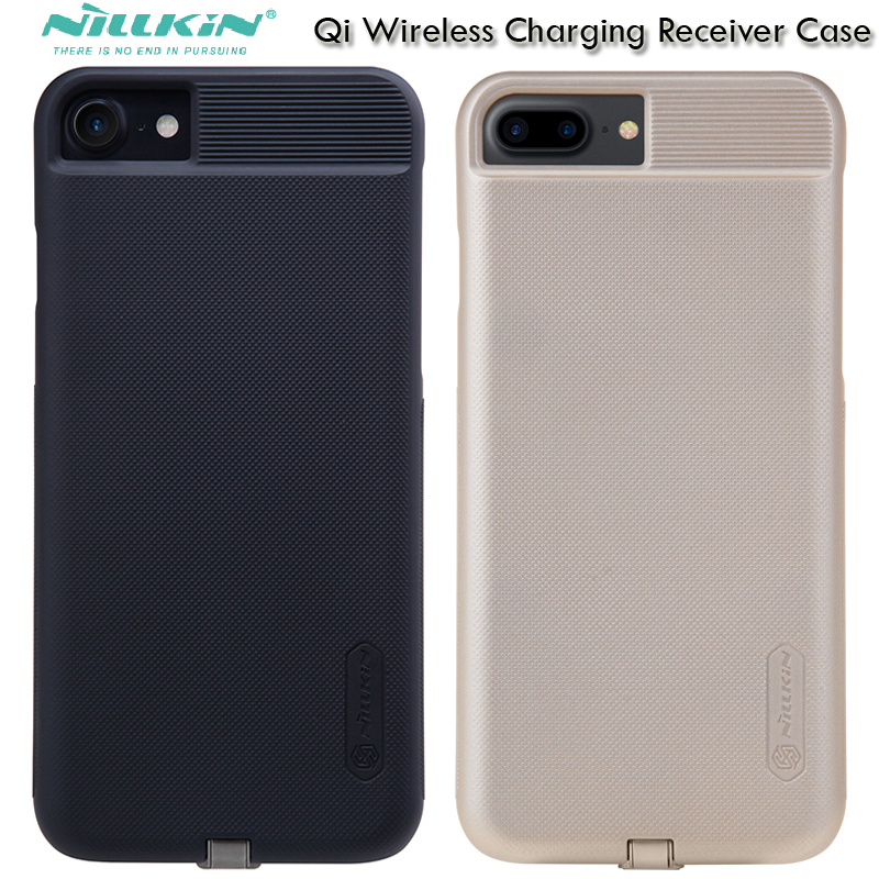 Nillkin Magic caso de carga inalámbrica para el iPhone 7/Plus Qi receptor adpater cubierta