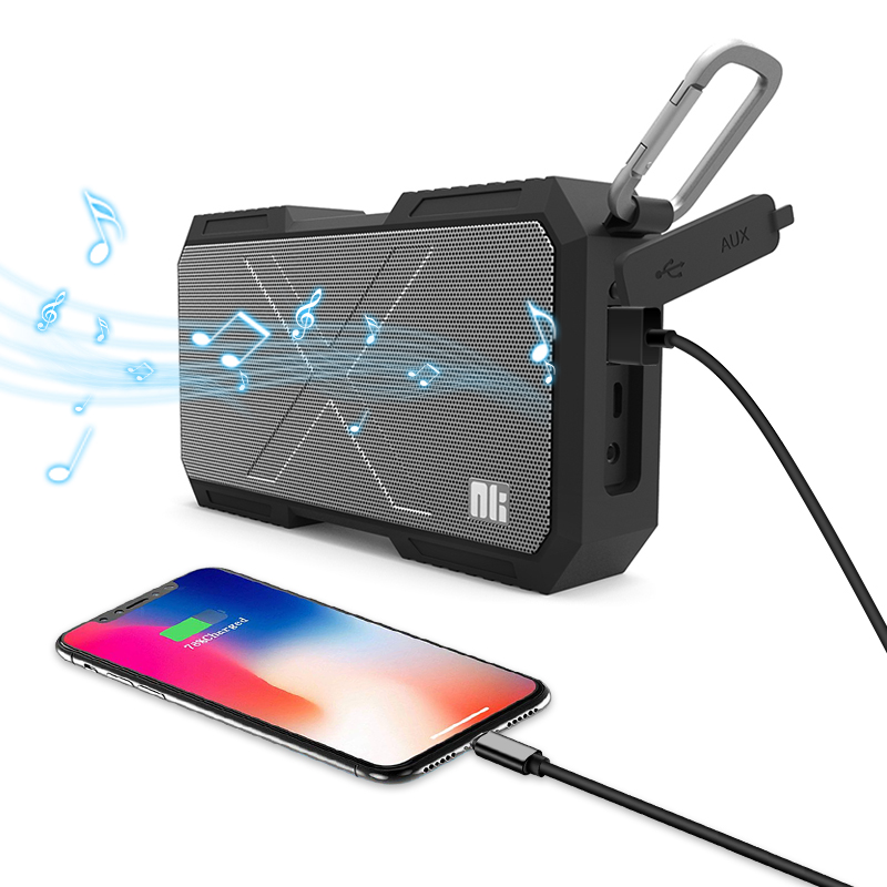 Nillkin Draadloze Bluetooth Speaker Power Bank Waterdichte Draagbare Kolom Doos muziek Luidspreker Stereo HiFi voor iPhone Voor Xiaomi-in Draagbare Luidspreker van Consumentenelektronica op  Groep 1
