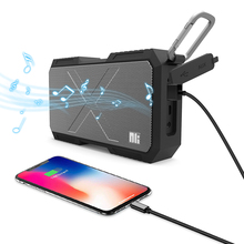 Nillkin altavoz inalámbrico por Bluetooth, cargador portátil de batería, columna a prueba de agua, altavoz de música estéreo HiFi para iPhone y Xiaomi