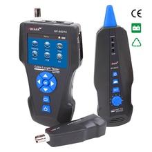 Бесплатная доставка NOYAFA нью-tdr кабель тестер длины NF-8601S провода Tracker Тесты break point длины кабеля POE и пинг трекер