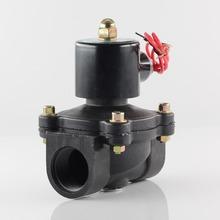 AC/DC 380/220/110/12/24/36V  Normally closed plastic solenoid valve water switching valve, which is corrosion resistant.