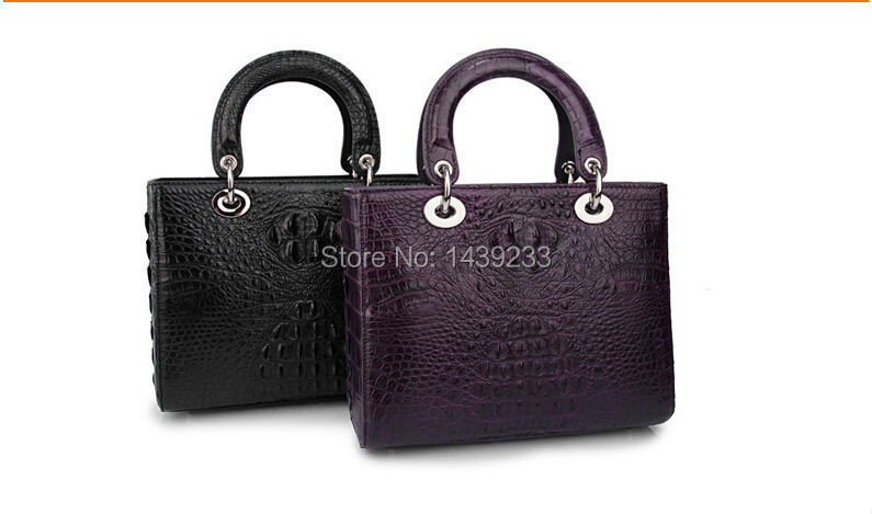 100% genuine Alligator skin leather handbag fashion women clutch bag crocodile leather skin tote цена