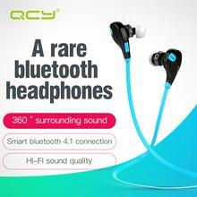 Qcy QY 7 Sports беспроводной Bluetooth 4.1 + EDR headphones стерео наушники гарнитура с микрофоном вызова наушники для iPhone 7 android телефон