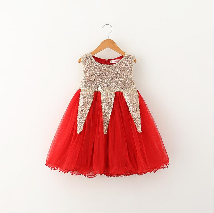 Popular Kids Red and Gold Dresses-Buy Cheap Kids Red and Gold ...