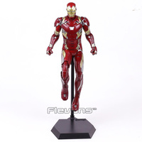 Juguetes locos Iron Man MARK XLVI MK 46 1/6 Escala de PVC Figura de Colección Modelo de Juguete 38 cm