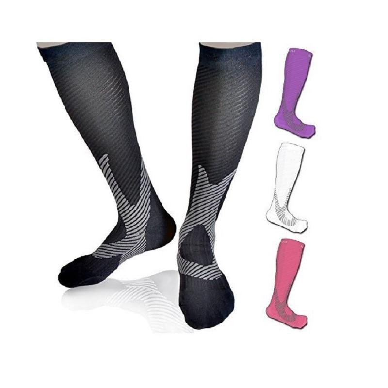 f3dfcd7be8 [COSPLACOOL]Mens Professional Compression Socks Breathable Travel Activities  Fit for Nurses Shin Splints Flight Pressure Socks
