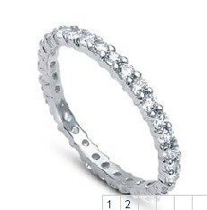 Femme bijoux bagues argent 925 3 MM bague de mariage fête bague