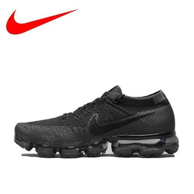 big sale 3a036 9e88e D origine Nike Air VaporMax Flyknit Respirant Hommes de Chaussures de Course,  Nouvelle Arrivée