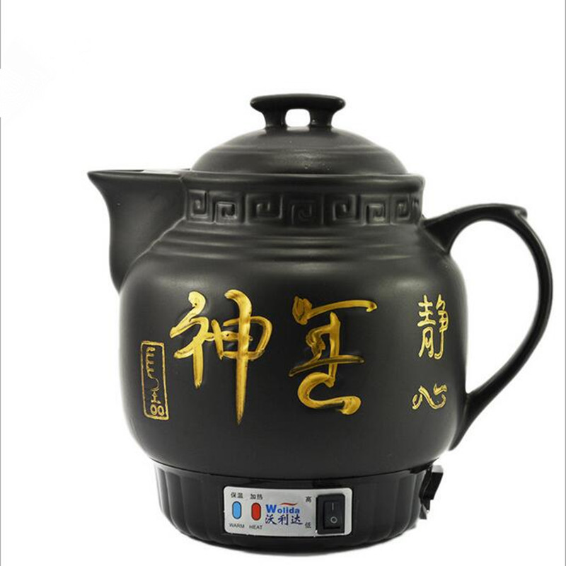 220V 5L Full-automatic Ceramic Electric Heating Kettle Health Preserving Pot TeaPot Water Kettle Free Shipping