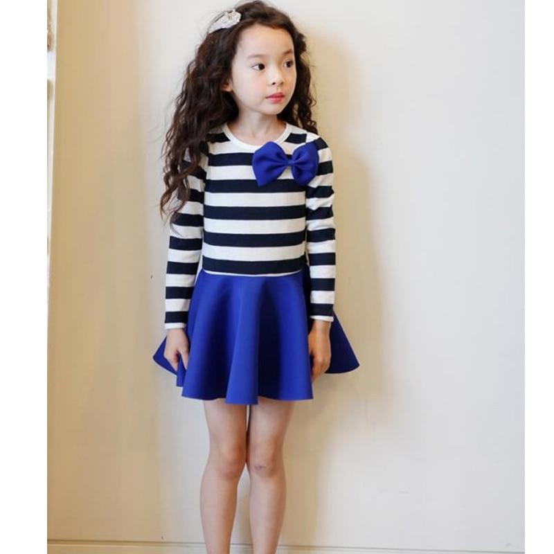 HOT baby girl clothing girls dress spring and autumn babi polka dot long-sleeve baby girls dress casual dress sachin babi повседневные брюки