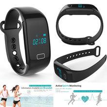 2016 Gimnasio JW018 Banda de Pulsera Inteligente de Ritmo Cardíaco Monitor hr Tasa de Carga Dispositivos Portátiles Rastreador Smartwatch Mejor Que TW64