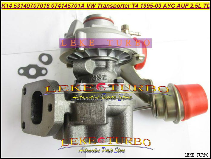 K14 53149707018 53149887018 074145701A Turbo Turbocharger For Volkswagen VW T4 Transporter 95-03 AJT AYY ACV AUF AYC 2.5L 102HP volkswagen transporter в москве б у