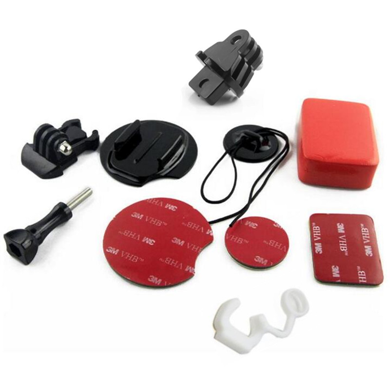 Sj4000 Kit de surf surfboard wakeboard adaptador montaje para Go Pro FCS goma bloqueo plug para GoPro Hero 4 3 xiaomi yi Accesorios