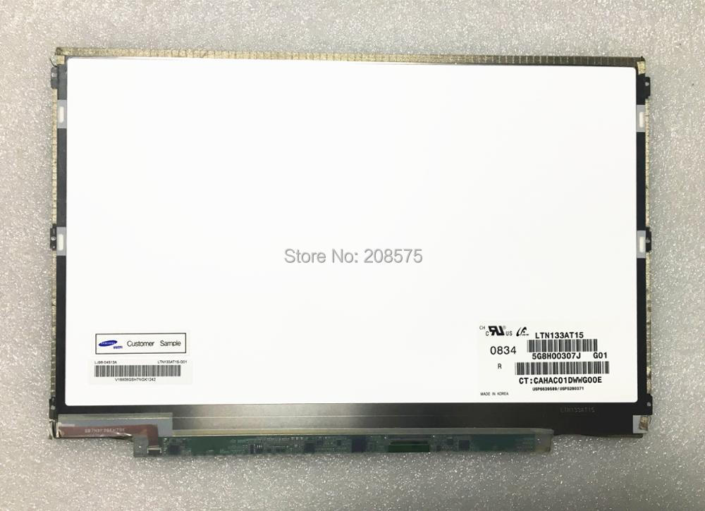 Free shipping LTN133AT15 13.3'' inch Laptop LCD SCREEN 1280*800 with LVDS 40pin