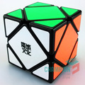 MoYu Skewb Magic Cube Puzzle Balck And White And Primary Intelligence Educational Toy Twist Toy for Children