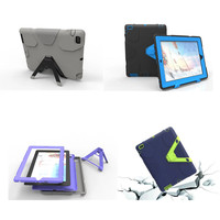 Kids Safe Luxury Heavy Duty Silicone Case For Apple IPad 2 3 4 Shockproof Protective Cover