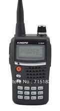 2013 New Kingpo K-303P 10km walkie talkie VHF 136-174MHz 5W 99CH FM Portable Two-way Radio Handheld Transceiver