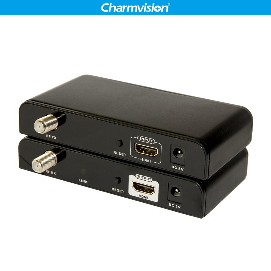 LKV379 500 m HDMI 1080 p HDMI Extender su cavo Coassiale HDMI su Cavo Coassiale Cavo RG6 RG7 RG11 fino a 1640 ft da Trasmettitore Ricevitore