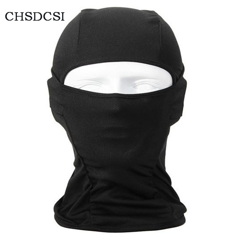 CHSDCSI New Lycra Balaclava Face Mask UltraThin Motorcycle Sports Winter Mask Cycling Neck Gaiter Dustproof Windproof Mask M030