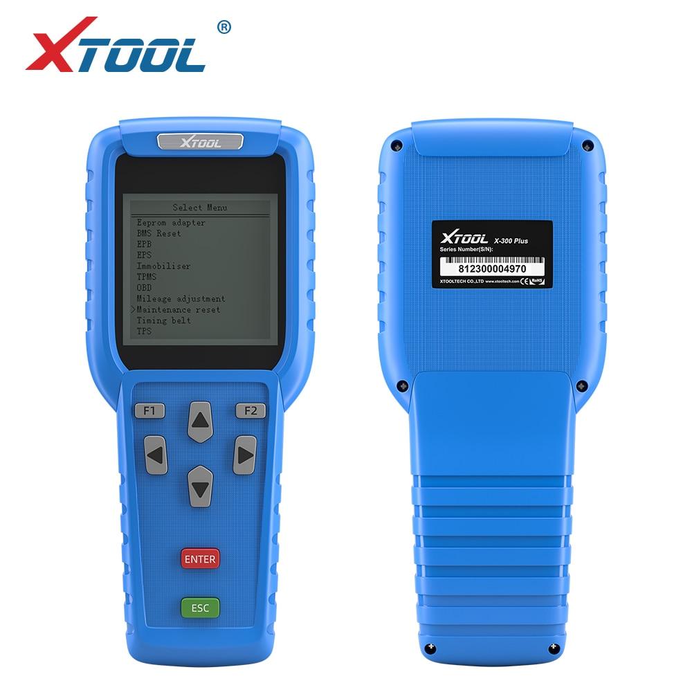 XTOOL X300 Plus OBD2 Auto key programmer mainternance light reast diagnostic tool odometer adjustment code reader