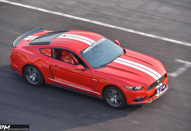 Подходит для Ford Mustang спойлер 2015 2016 2017 автомобильный ABS пластиковый Неокрашенный задний праймер крыло крыши задний спойлер