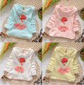 New baby girls cartoon dresses child kids The Little Match Girl clothing dress party clothes top quality
