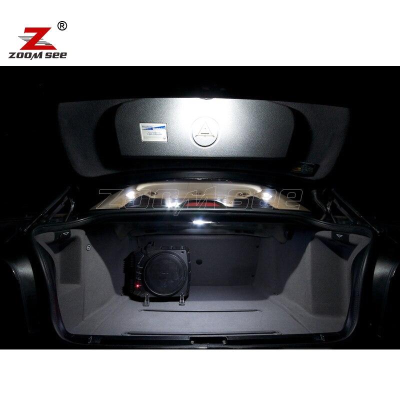 21pcs LED notranja svetilka + svetilka registrske tablice za BMW E39 - Avtomobilske luči - Fotografija 5