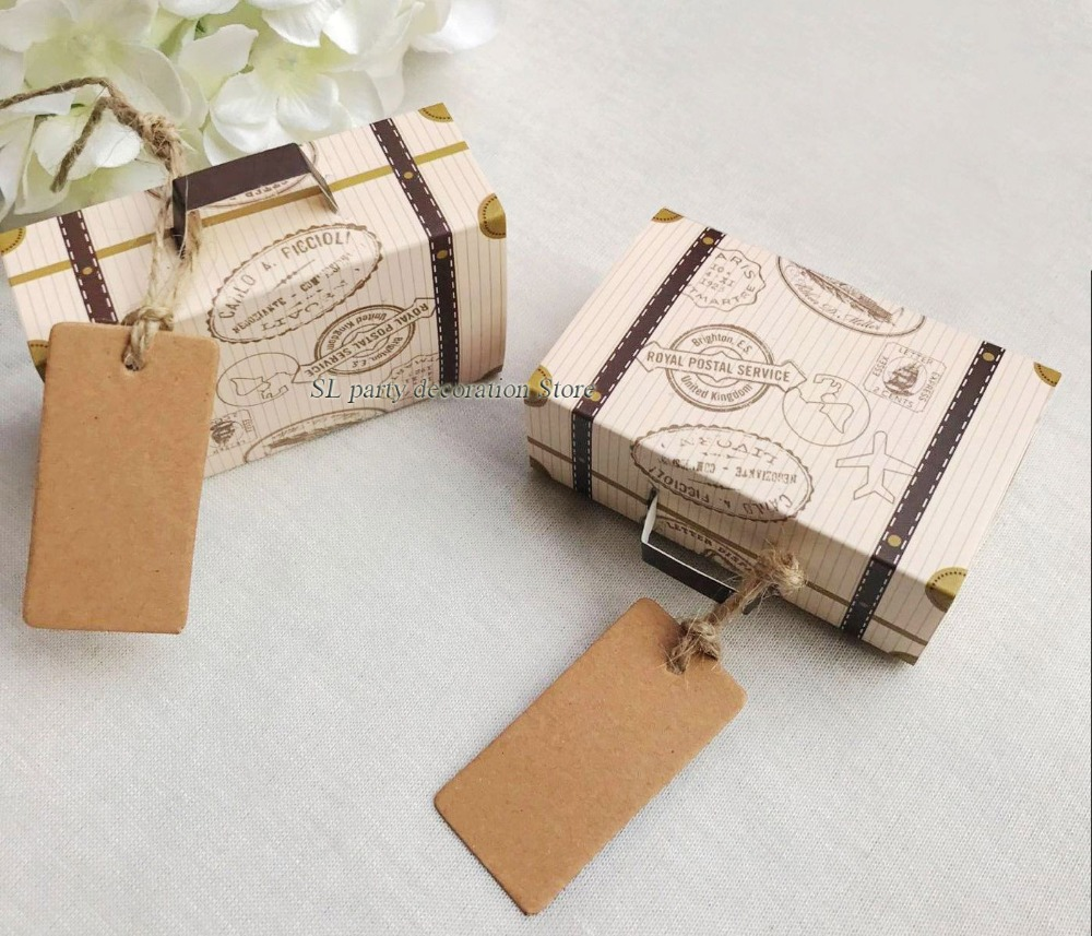 Buy suitcase favor boxes and get free shipping on AliExpress.com