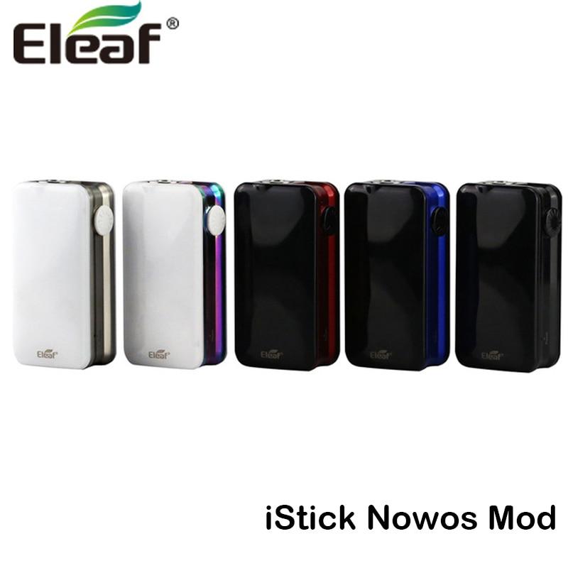 Original Eleaf iStick NOWOS 80W Box MOD 4400mah Battery Support Ello Duro Tank Electronic Cigarette Vape Kit стоимость