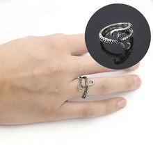 e1614a9d1a8 2019 nueva moda Punk Animal Ring joyería para hombre Vintage Steampunk  pulpo tamaño ajustable anillo femenino Hip Hop gótico ani.