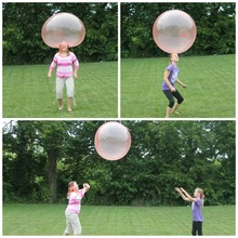 110CM Bubble Balloon Inflatable Funny Toy Ball Amazing Tear-Resistant Super Gift Balls for Outdoor Play