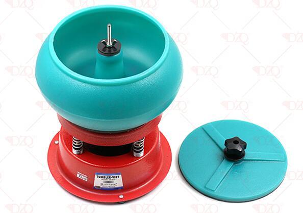 Outils à bijoux capacité 4kg Mini gobelet vibrant, vibreur polisseur finisseur nettoyant, machine à polir pour orfèvre